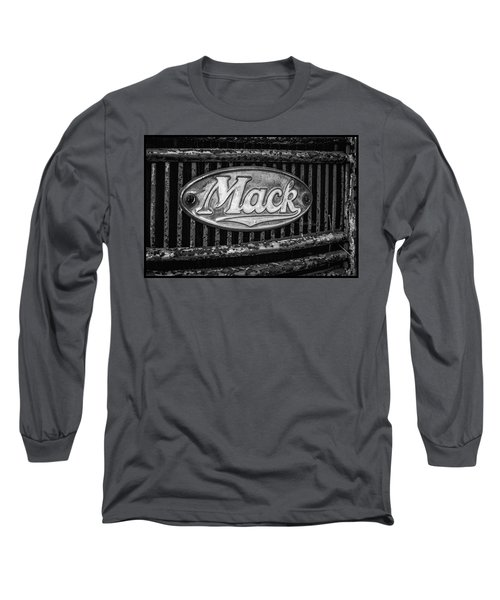 Mack Truck Emblem Long Sleeve T-Shirt