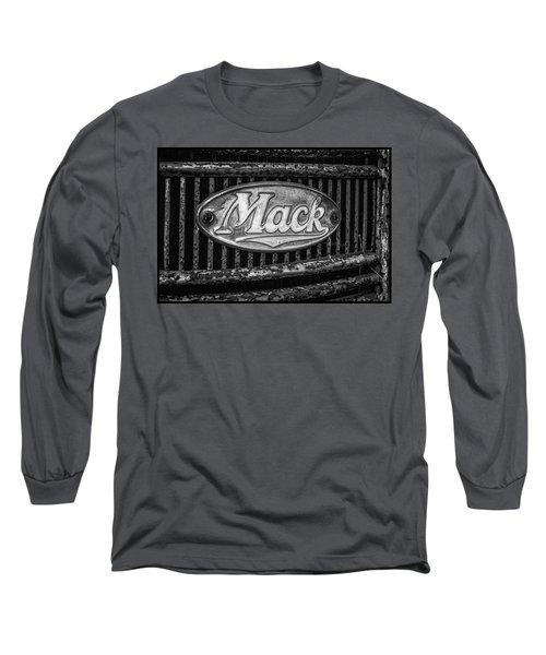 Mack Truck Emblem Long Sleeve T-Shirt
