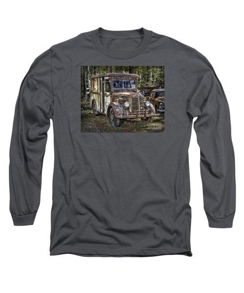 Very Old Mack Truck Long Sleeve T-Shirt