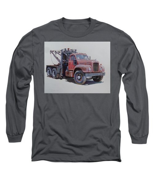 Mack Wrecker. Long Sleeve T-Shirt