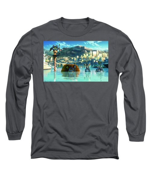 Madagascar 3 Europe's Most Wanted Long Sleeve T-Shirt