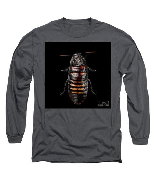 Madagascar Hissing Cockroach Long Sleeve T-Shirt