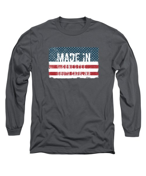 Made In Conestee, South Carolina Long Sleeve T-Shirt