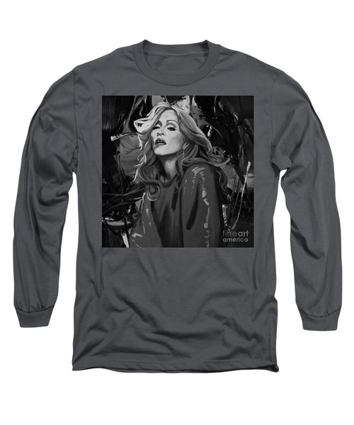 Madonna Singer Long Sleeve T-Shirt