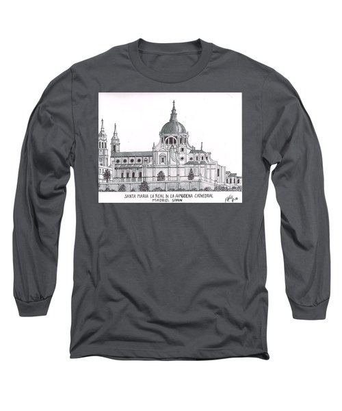Madrid Cathedral Aimudena Long Sleeve T-Shirt