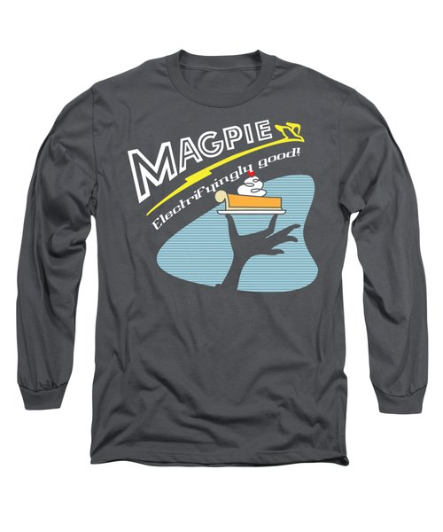 Mag Pies Long Sleeve T-Shirt by Luis Pangilinan