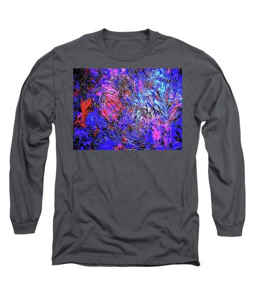 Magic Blue Long Sleeve T-Shirt