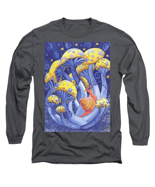 Magic Mushrooms Long Sleeve T-Shirt