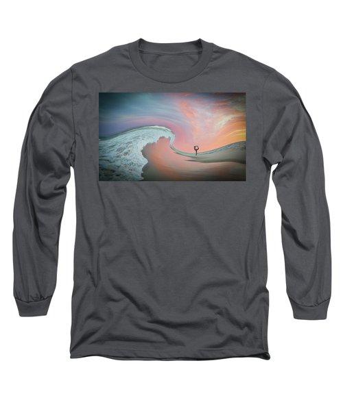Magical Beach Sunset Long Sleeve T-Shirt