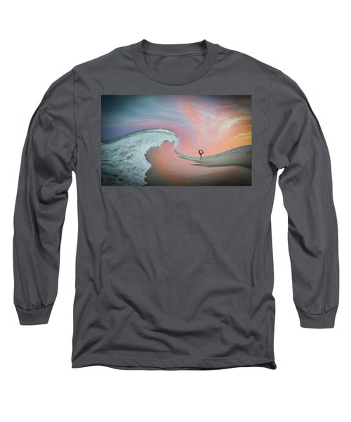 Magical Beach Sunset Long Sleeve T-Shirt