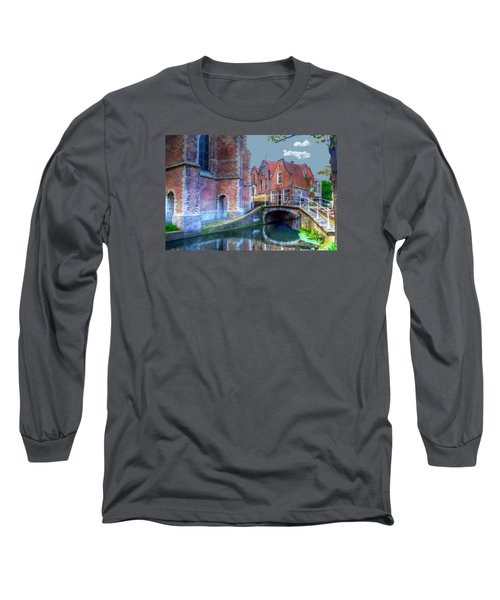 Magical Delft Long Sleeve T-Shirt by Uri Baruch