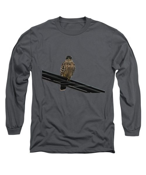 Magical Merlin Long Sleeve T-Shirt by Debbie Oppermann