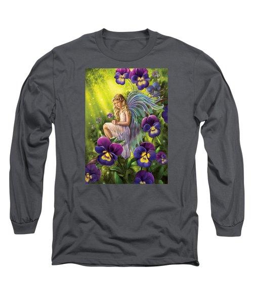 Magical Pansies Long Sleeve T-Shirt