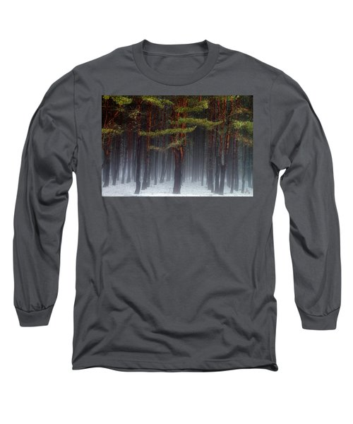 Magical Pines Long Sleeve T-Shirt
