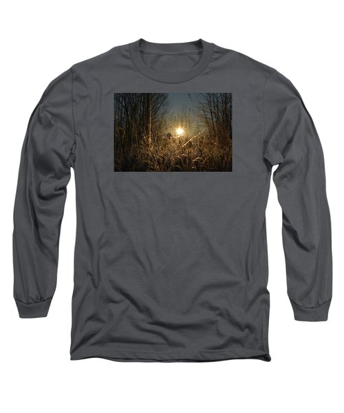 Magical Sunrise Long Sleeve T-Shirt by Dacia Doroff