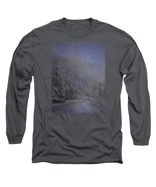 Long Sleeve T-Shirt featuring the photograph Magical Winter Day by Ellen Heaverlo