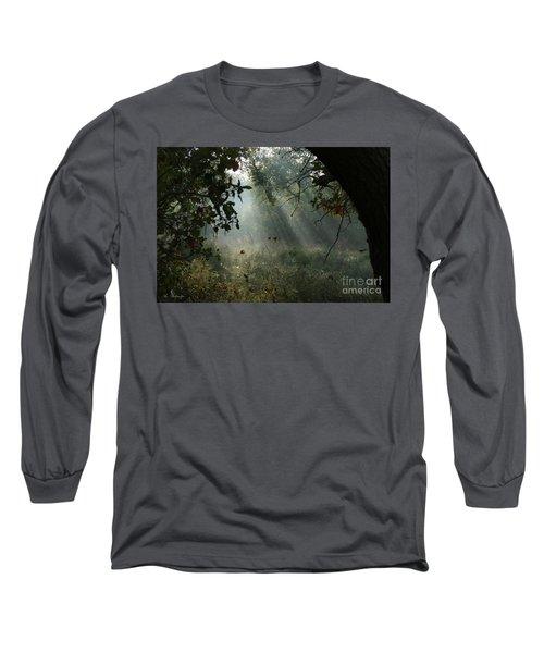 Magical Woodland Lighting Long Sleeve T-Shirt