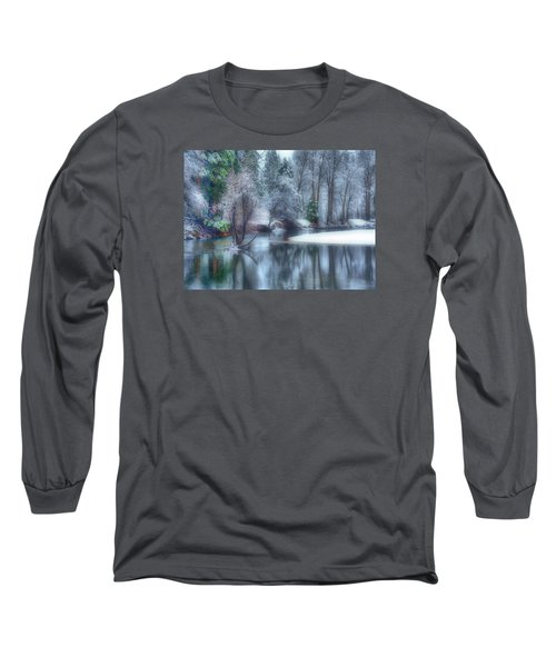 Magical Touch To Yosemite Long Sleeve T-Shirt by Josephine Buschman