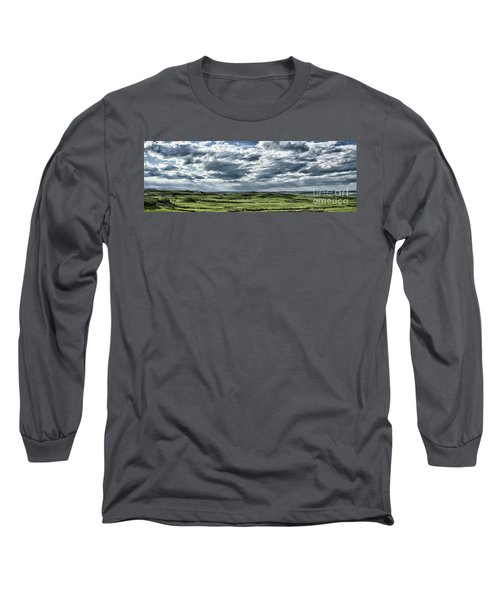 Magnetic View Long Sleeve T-Shirt