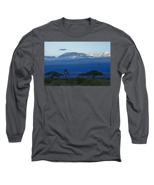 Magnificent Kilimanjaro Long Sleeve T-Shirt