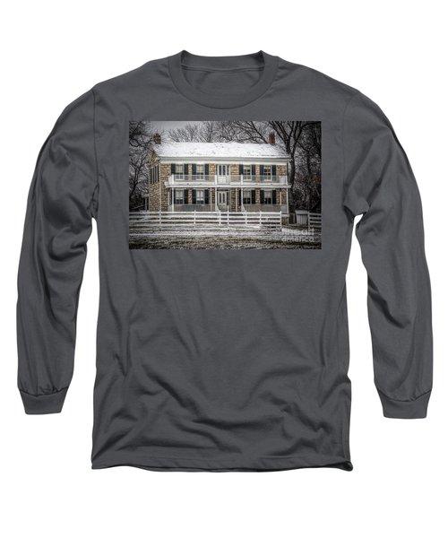 Mahaffie Stagecoach Stop Long Sleeve T-Shirt