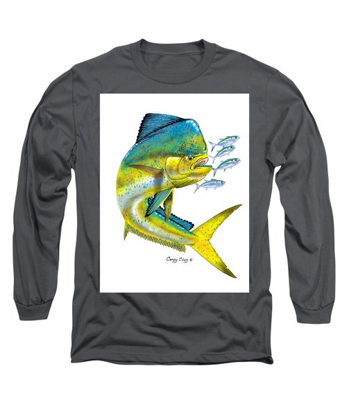 Mahi Digital Long Sleeve T-Shirt by Carey Chen