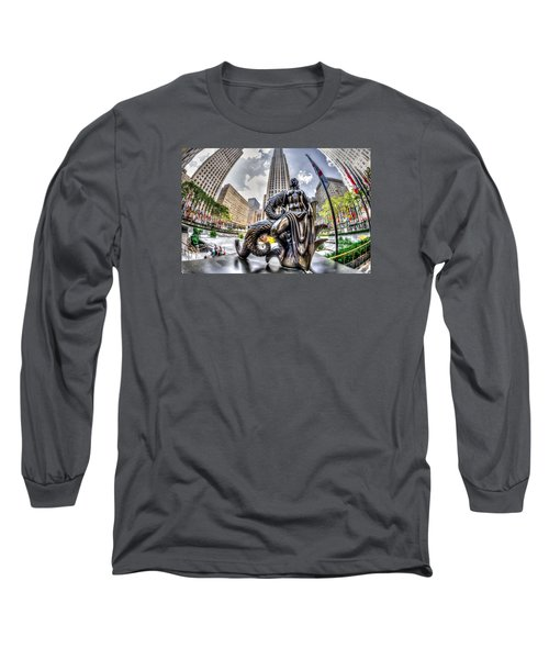 Long Sleeve T-Shirt featuring the photograph Maiden by Rafael Quirindongo