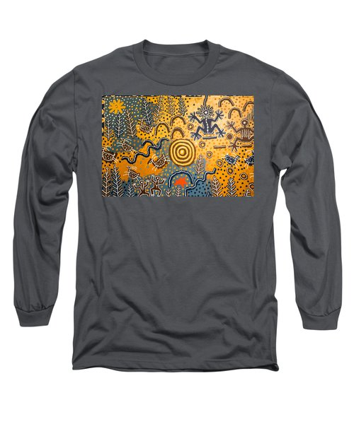 Maidu Creation Story Long Sleeve T-Shirt