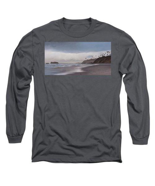 Main Beach Reflections Long Sleeve T-Shirt