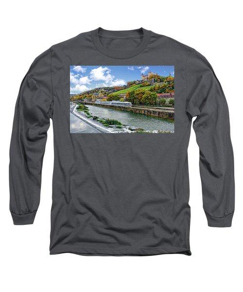 Main River Panorama Long Sleeve T-Shirt