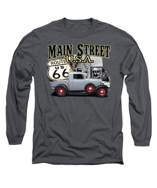 Main Street Rod Long Sleeve T-Shirt