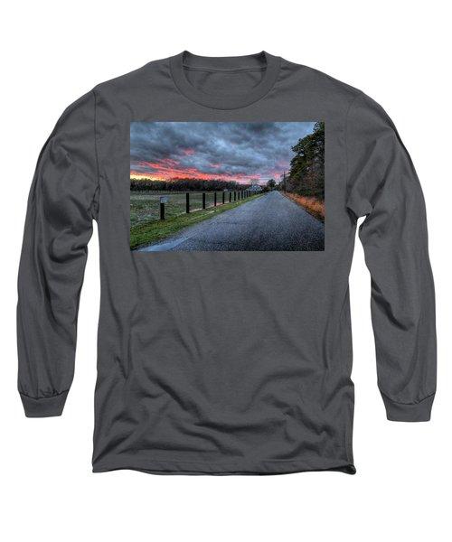 Main Sunset Long Sleeve T-Shirt