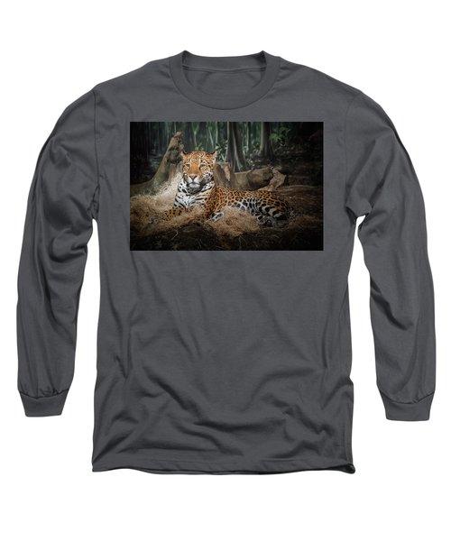 Majestic Leopard Long Sleeve T-Shirt
