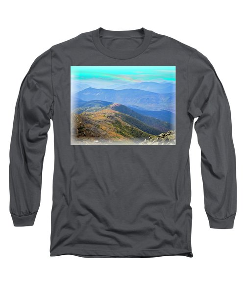Majestic White Mountains Long Sleeve T-Shirt