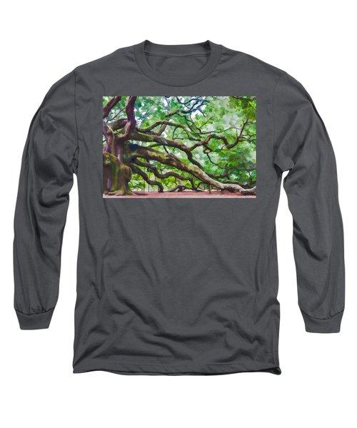 Majesty - The Angel Oak Long Sleeve T-Shirt