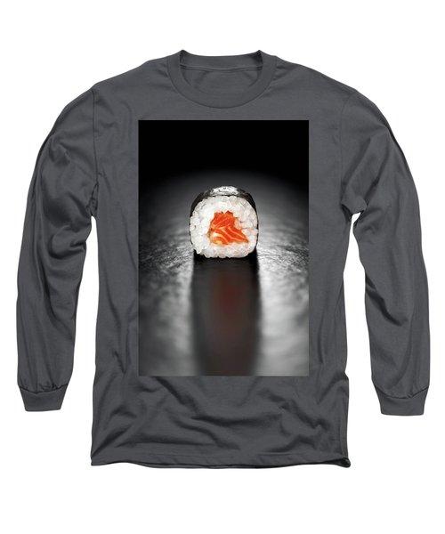 Maki Sushi Roll With Salmon Long Sleeve T-Shirt