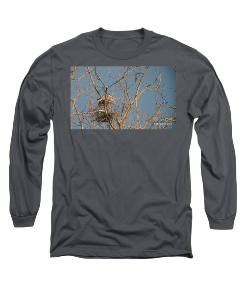 Long Sleeve T-Shirt featuring the photograph Making Babies by David Bearden
