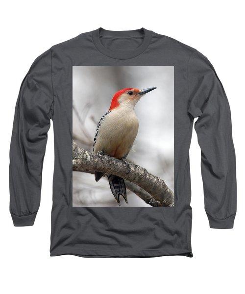 Male Red-bellied Woodpecker Long Sleeve T-Shirt