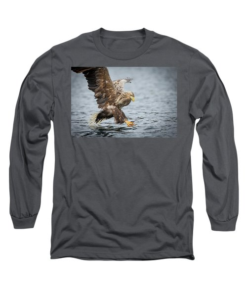 Male White-tailed Eagle Long Sleeve T-Shirt