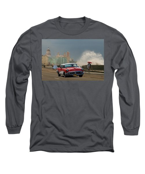 Malecon Havana Long Sleeve T-Shirt