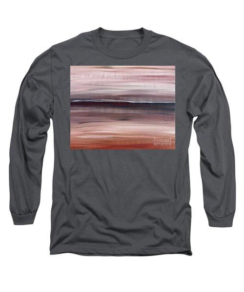 Malibu #33 Seascape Landscape Original Fine Art Acrylic On Canvas Long Sleeve T-Shirt