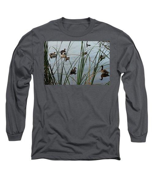 Mallard Migration Long Sleeve T-Shirt