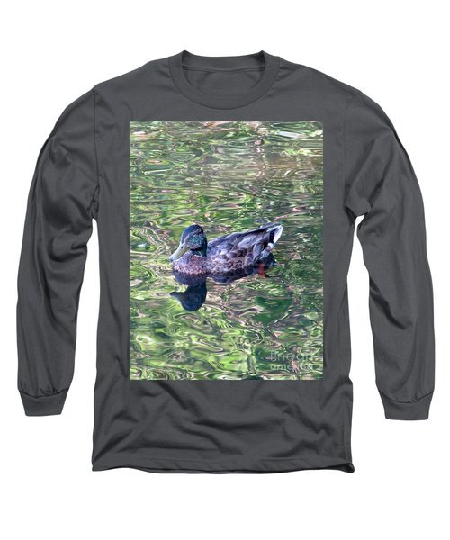 Mallard Monet Long Sleeve T-Shirt