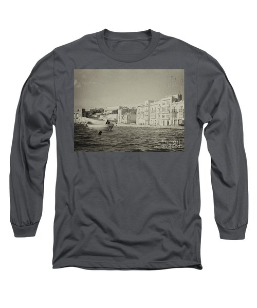 Maltese Boat Long Sleeve T-Shirt