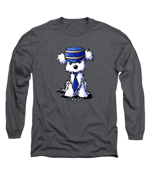 Maltese Conductor Long Sleeve T-Shirt