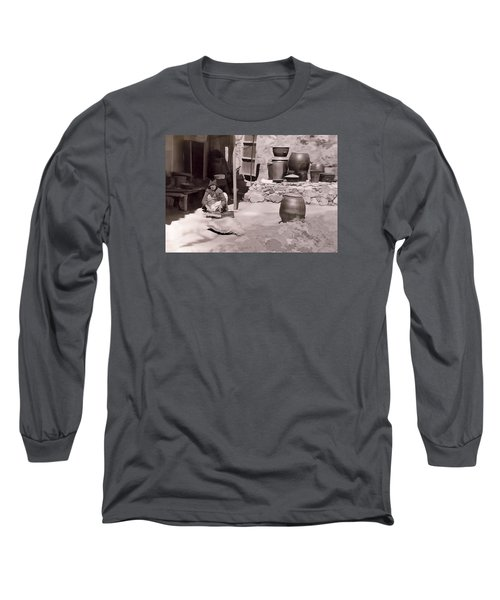Long Sleeve T-Shirt featuring the photograph Mamasan by Dale Stillman