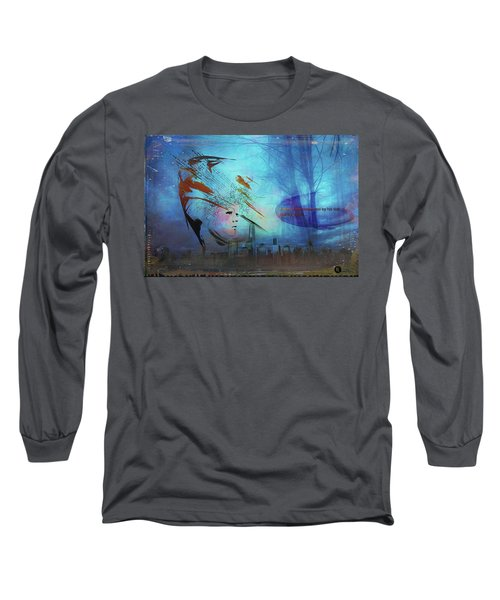 Man Is Art Long Sleeve T-Shirt