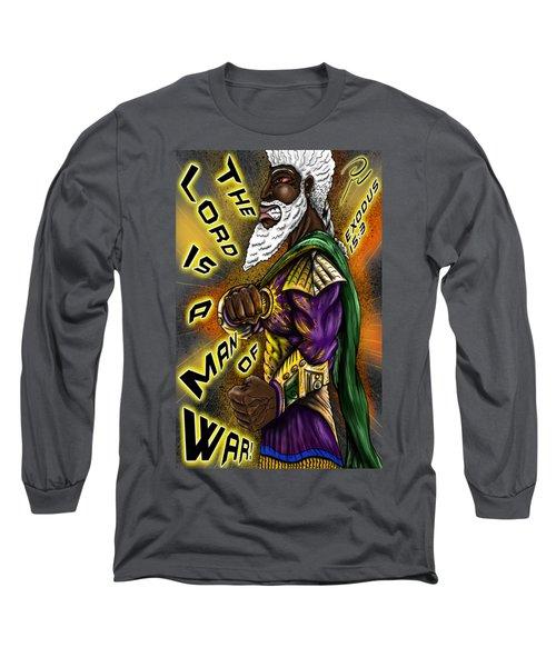 Man Of War T-shirt Design Long Sleeve T-Shirt