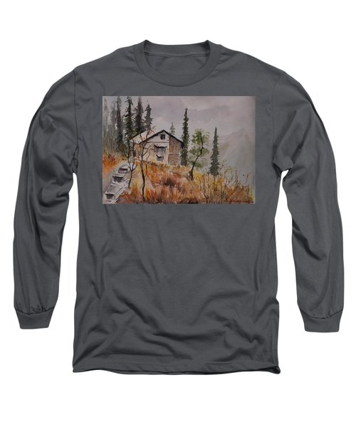 Manali Scene2 Long Sleeve T-Shirt