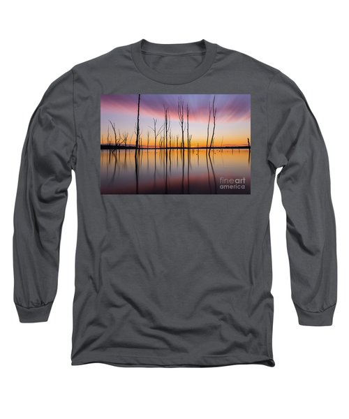 Manasquan Reservoir Long Exposure Long Sleeve T-Shirt